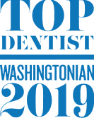 Top Dentistst Washingtonian 2017 logo